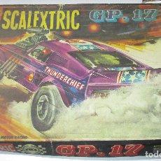 Scalextric: SCALEXTRIC EXIN CAJA CIRCUITO G.P. GP. GP 17. Lote 175686345