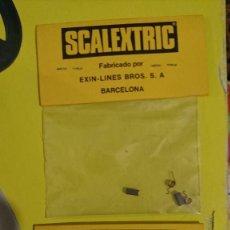 Scalextric: 2 BOLSAS SCALEXTRIX EXIN AÑOS 80 REF, 5162 PAR ESCOBILLAS Y MUELLES MOTOR RX2 Y RX3. Lote 176122145
