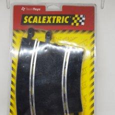 Scalextric: BLISTER CON 2 PISTAS SCALEXTRIC - CURVA CORTA - NO USADAS - CAR164. Lote 176605134