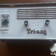 Scalextric: SCALEXTRIC TRANSFORMADOR RECTIFICADOR TRI-ANG TR-1 12V 1 AMP FUNCIONANDO. Lote 176679044
