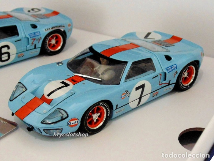 Superslot Ford Gt40 Winner Le Mans 1969 Twin Pack Gulf Ickx Oliver Scalextric H4041a
