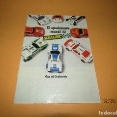 Scalextric: ANTIGUA GUIA DEL SCALEXTRISTA DE SCALEXTRIC DEL AÑO 1987. Lote 176894154