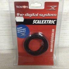 Scalextric: SCALEXTRIC DIGITAL SYSTEM.CABLE CONEXIÓN CENTRALES.NUEVO.. Lote 177261143