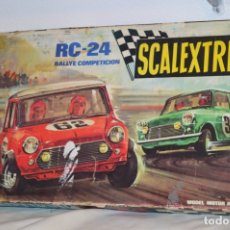 Scalextric: ESTUCHE / CAJA - RC-24 / RC 24 - SCALEXTRIC - EXIN - MADE IN SPAIN - SLOT - ¡MIRA!. Lote 175284084