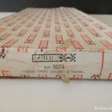 Scalextric: SCALEXTRIC 3074 JUEGO SHORT CHICANE ( UN TRAMO). Lote 177812390