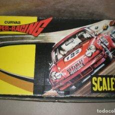 Scalextric: SCALEXTRIC,JUEGO 3 CURVAS SUPER RACING,EN CAJA.. Lote 178807046