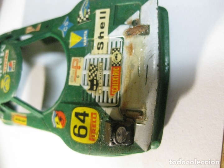 Scalextric: carroceria coche scalextric lancia nº 6 . rotura de un faro - Foto 2 - 180387300