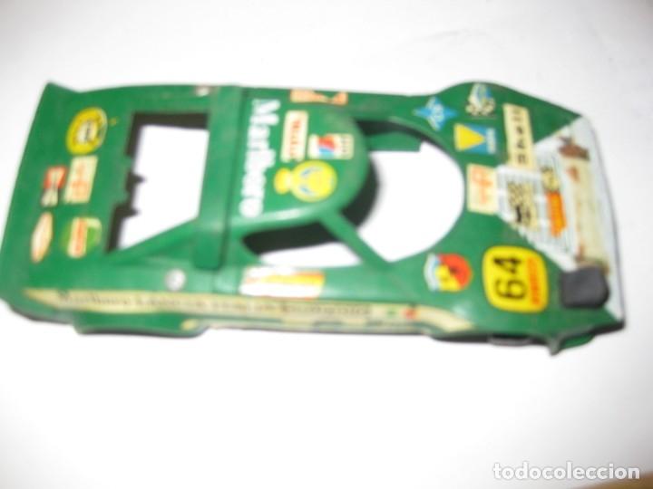 Scalextric: carroceria coche scalextric lancia nº 6 . rotura de un faro - Foto 4 - 180387300