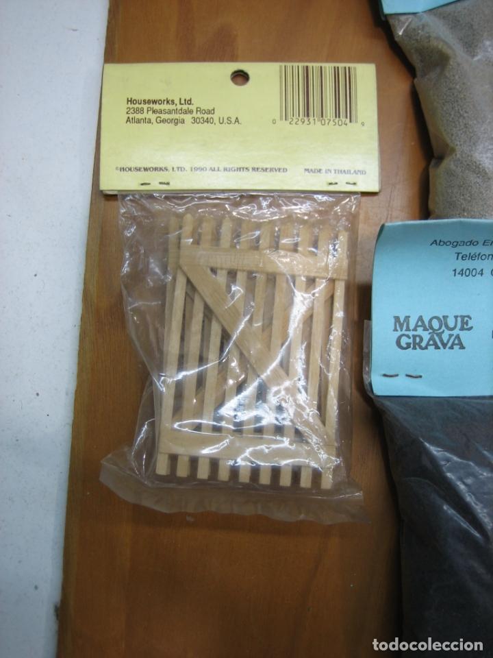 Scalextric: Lote de sacos de Graba para maquetas y circuitos Scalextric y trenes - Foto 10 - 182098992