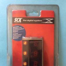Scalextric: SCX THE DIGITAL SYSTEM. MODULO AMPLIACIÓN CUENTAVUELTAS DIGITAL - MOC. Lote 182311613