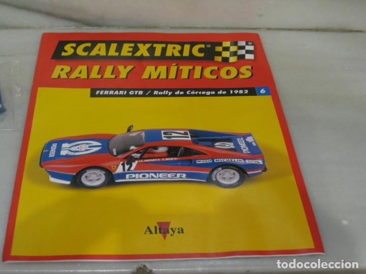 Scalextric: Scalextric rally míticos Ferrari fascículo 6 y chasis. - Foto 3 - 182665646