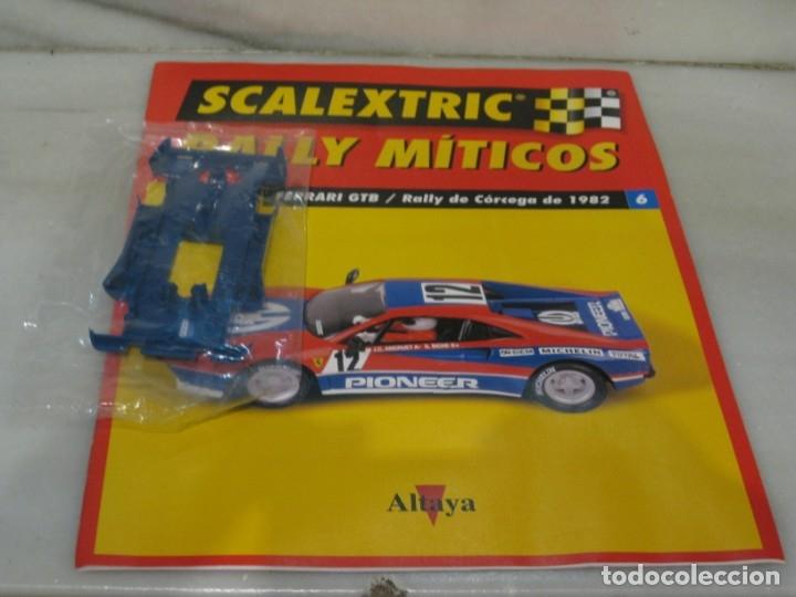 Scalextric: Scalextric rally míticos Ferrari fascículo 6 y chasis. - Foto 4 - 182665646