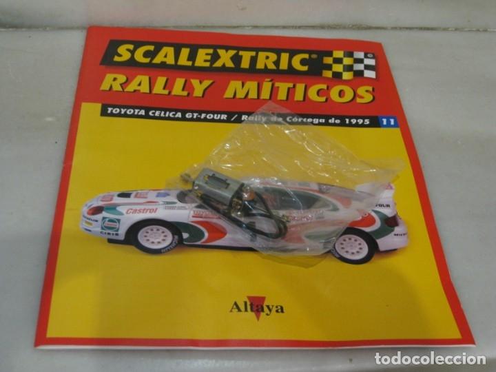 Scalextric: Scalextric rally míticos Toyota Celica - fascículo 11 y motor. - Foto 2 - 182665727