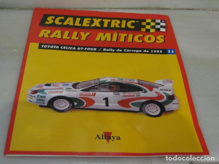 Scalextric: Scalextric rally míticos Toyota Celica - fascículo 11 y motor. - Foto 4 - 182665727