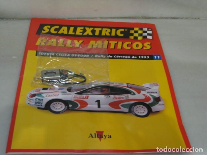 Scalextric: Scalextric rally míticos Toyota Celica - fascículo 11 y motor. - Foto 5 - 182665727