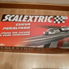 Scalextric: SCALEXTRIC CURVA PERALTADA SCX TECNITOYS REF. 8868. Lote 182795501