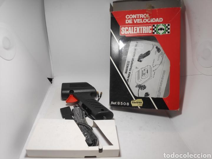 SCALEXTRIC CONTROL DE VELOCIDAD REF. 8508 EXIN ROJO NUEVO A ESTRENAR (Juguetes - Slot Cars - Scalextric Pistas y Accesorios)