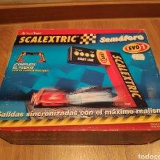 Scalextric: SCALEXTRIC SEMÁFORO EVO1 SCX TECNITOYS REF. 8853. Lote 183879727