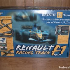 Scalextric: RENAULT F1 RACING TRACK. Lote 183915615