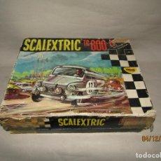 Scalextric: ANTIGUA CAJA VACIA DEL CIRCUITO DE LOS SEAT 600 TC-600 DE SCALEXTRIC EXIN. Lote 185928636