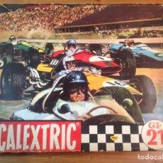 Scalextric: CIRCUITO GP 21 SCALEXTRIC CON DOS COCHES COOPER F1 AÑO 1970. Lote 186133512