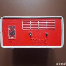 Scalextric: TRANSFORMADOR - RECTIFICADOR TRI-ANG TR1 CON DOS MANDOS SCALEXTRIC.. Lote 187578512