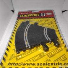 Scalextric: SCALEXTRIC 2 CURVAS INTERIOR SCX TECNITOYS REF. 8401. Lote 187590446