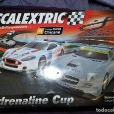 Scalextric: SCALEXTRIC CIRCUITO C3 ADRENALINE CUP CON CURVA CHICANE . Lote 189901153
