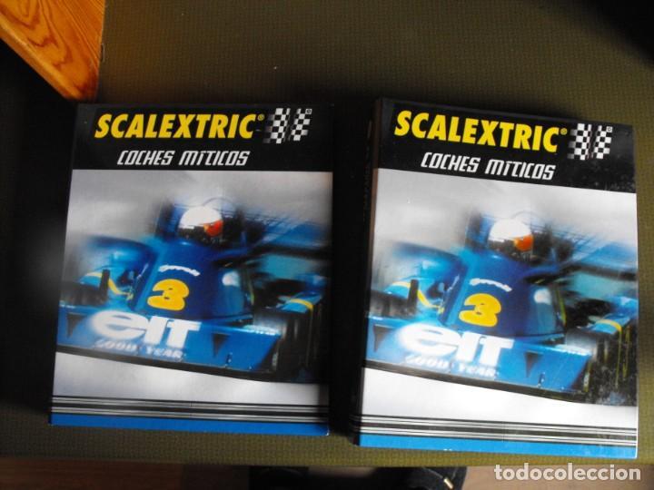 SCALEXTRIC. COCHES MÍTICOS. DOS ARCHIVADORES. EDICIONES ALTAYA. 2001. (Juguetes - Slot Cars - Scalextric Pistas y Accesorios)