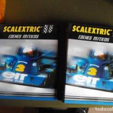 Scalextric: SCALEXTRIC. COCHES MÍTICOS. DOS ARCHIVADORES. EDICIONES ALTAYA. 2001.. Lote 193344523