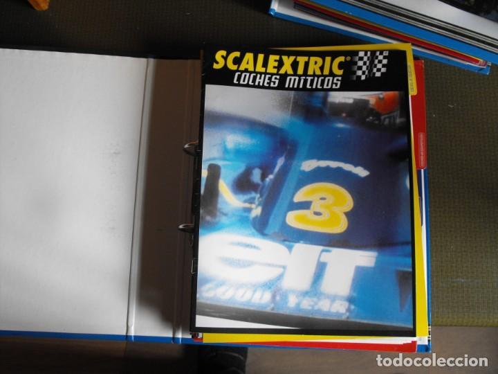 Scalextric: SCALEXTRIC. Coches míticos. Dos archivadores. Ediciones ALTAYA. 2001. - Foto 7 - 193344523
