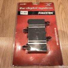 Scalextric: SCALEXTRIC 2 RECTAS DE 90 MM DIGITAL SYSTEM SCX TECNITOYS REF. 2013. Lote 193669366