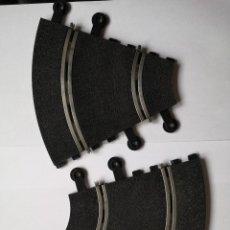 Scalextric: SLOT SCALEXTRIC LOTE DE 2 CURVAS INTERIORES AÑOS 80. . Lote 193785767