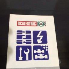 Scalextric: ESCALEXTRIC INSTRUCCIONES Y MANTENIMIENTO. Lote 194175295