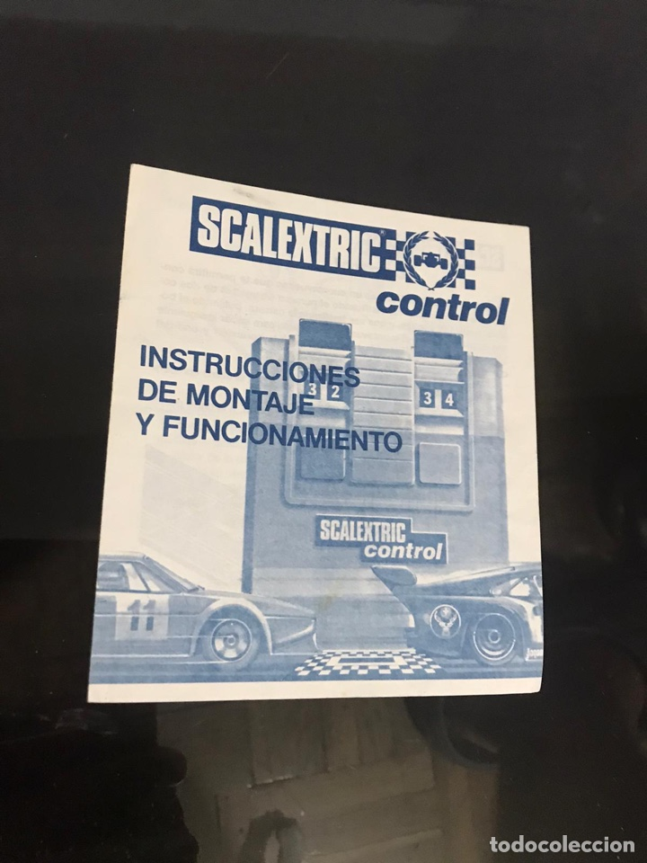 ESCALEXTRIC INSTRUCCIONES DE MONTAJE Y MANTENIMIENTO (Juguetes - Slot Cars - Scalextric Pistas y Accesorios)