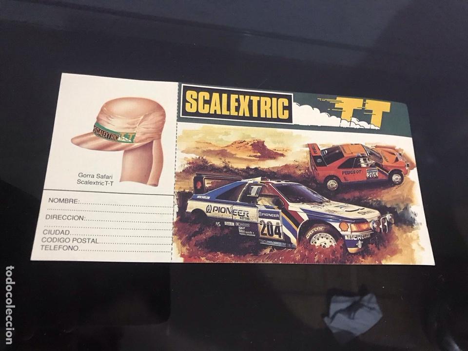 PUBLICIDAD ESCALEXTRIC (Juguetes - Slot Cars - Scalextric Pistas y Accesorios)