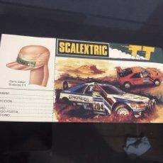 Scalextric: PUBLICIDAD ESCALEXTRIC. Lote 194175472