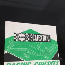 Scalextric: ESCALEXTRIC RACING CIRCUITS. Lote 194175550