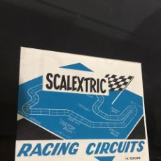 Scalextric: ESCALEXTRIC RACING CIRCUITS. Lote 194175586