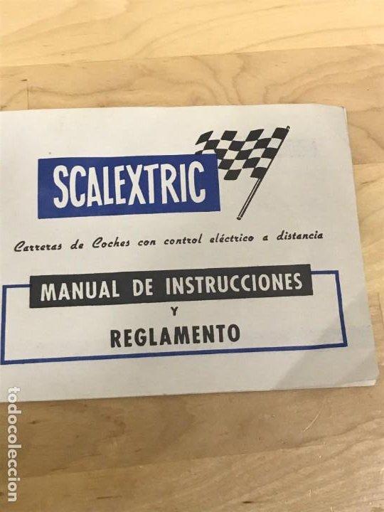 Scalextric: SCALEXTRIC GP51 ORIGINAL EN CAJA COMPLETO + 6 COCHES - Foto 16 - 194184797