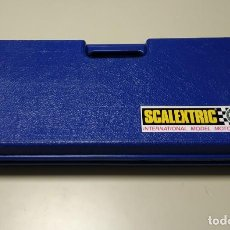 Scalextric: 0220- MALETIN SCALEXTRIC AZUL AÑOS 80. Lote 194284871