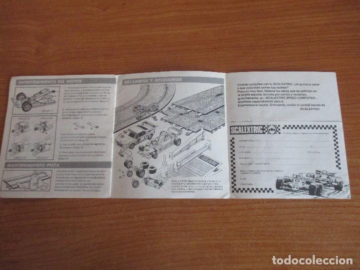 Scalextric: SCALEXTRIC: MANUAL DE INSTRUCCIONES Y MANTENIMIENTO - Foto 4 - 194524828