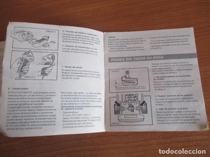 Scalextric: SCALEXTRIC: MANUAL DE INSTRUCCIONES Y MANTENIMIENTO - Foto 6 - 194524828