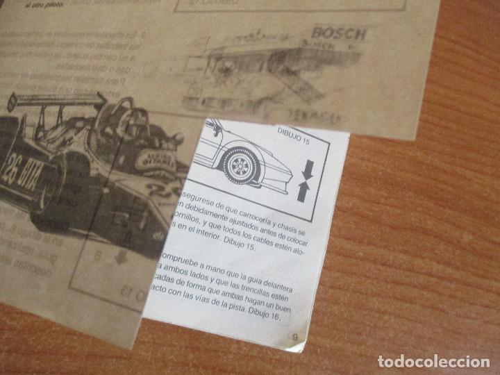 Scalextric: SCALEXTRIC: MANUAL DE INSTRUCCIONES Y MANTENIMIENTO - Foto 8 - 194524828