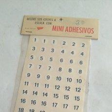 Scalextric: MINIADHESIVOS PLASTIC SCREEN, PARA DECORAR COCHES DE SCALEXTRIC 1:32. NUEVO. Lote 194563955