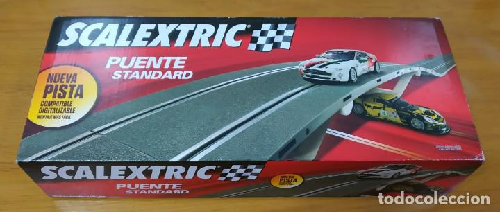 SCALEXTRIC. PRECIOSA CAJA ORIGINAL PUENTE STANDARD. (VER COMENTARIO Y FOTOS) (Juguetes - Slot Cars - Scalextric Pistas y Accesorios)