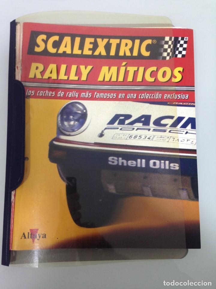 LOTE 12 FASCICULOS SCALEXTRIC RALLY MITICOS, TECNITOYS-ALTAYA, 1-5-9-13-17-21-25-29-33-37-41 Y 45 (Juguetes - Slot Cars - Scalextric Pistas y Accesorios)