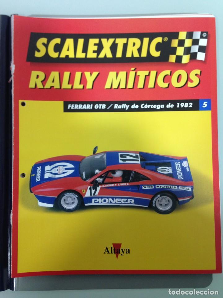 Scalextric: LOTE 12 FASCICULOS SCALEXTRIC RALLY MITICOS, TECNITOYS-ALTAYA, 1-5-9-13-17-21-25-29-33-37-41 Y 45 - Foto 3 - 194605965