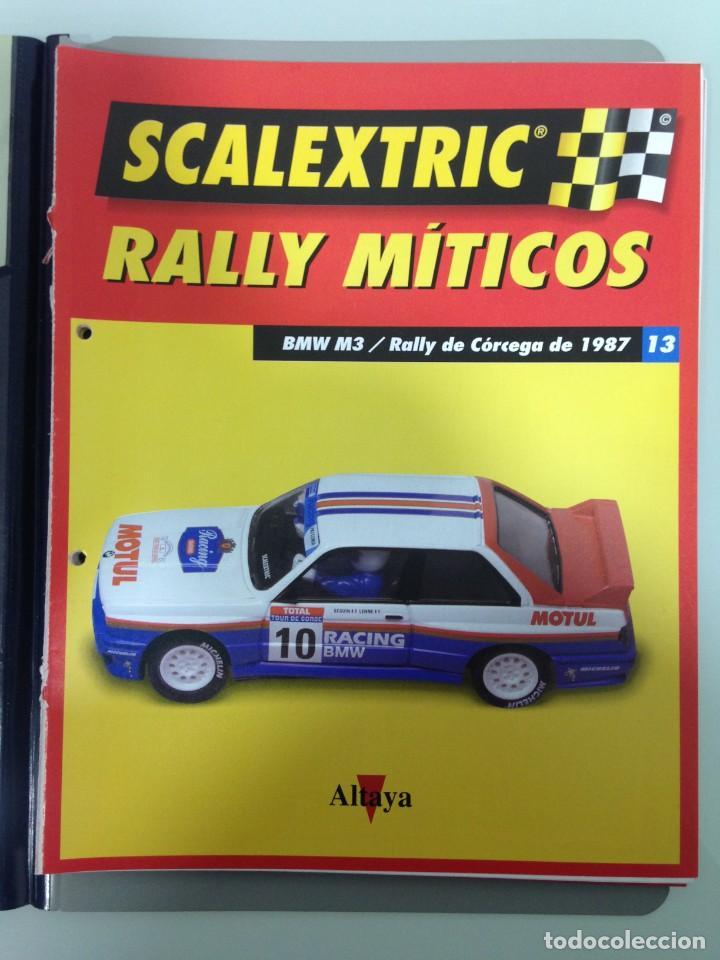 Scalextric: LOTE 12 FASCICULOS SCALEXTRIC RALLY MITICOS, TECNITOYS-ALTAYA, 1-5-9-13-17-21-25-29-33-37-41 Y 45 - Foto 5 - 194605965