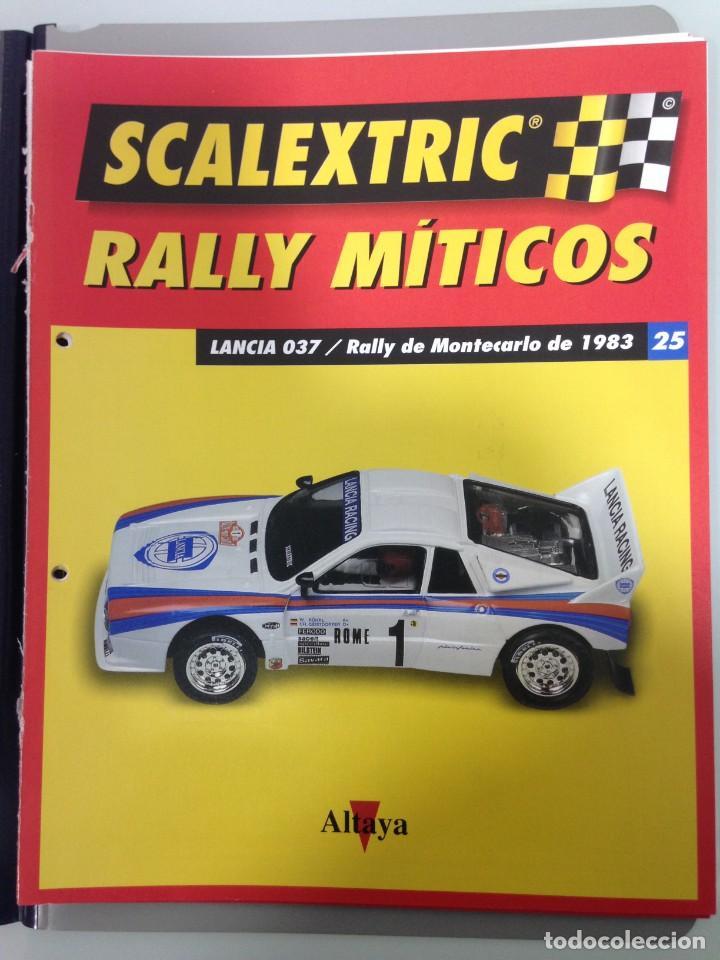 Scalextric: LOTE 12 FASCICULOS SCALEXTRIC RALLY MITICOS, TECNITOYS-ALTAYA, 1-5-9-13-17-21-25-29-33-37-41 Y 45 - Foto 8 - 194605965